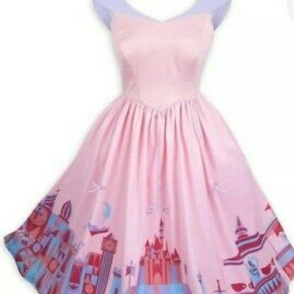 Disney Dresses & Skirts - Disney Parks Dress Shop Fantasyland Aurora Castle